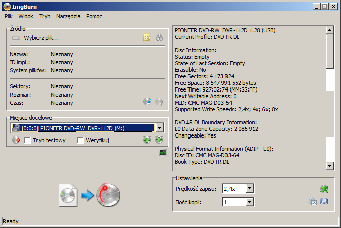 Verbatim DVD+R DL 8,5GB x8 White Inkjet Hub Printable MID: CMC MAG-D03-64-2016-07-16-18_51_16-imgburn.png