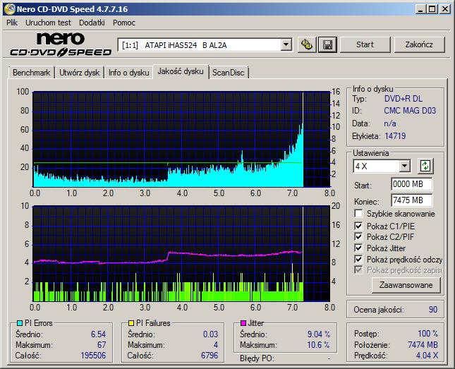 Verbatim DVD+R DL 8,5GB x8 White Inkjet Hub Printable MID: CMC MAG-D03-64-atapi___ihas524___b_al2a_16-july-2016_20_11.png