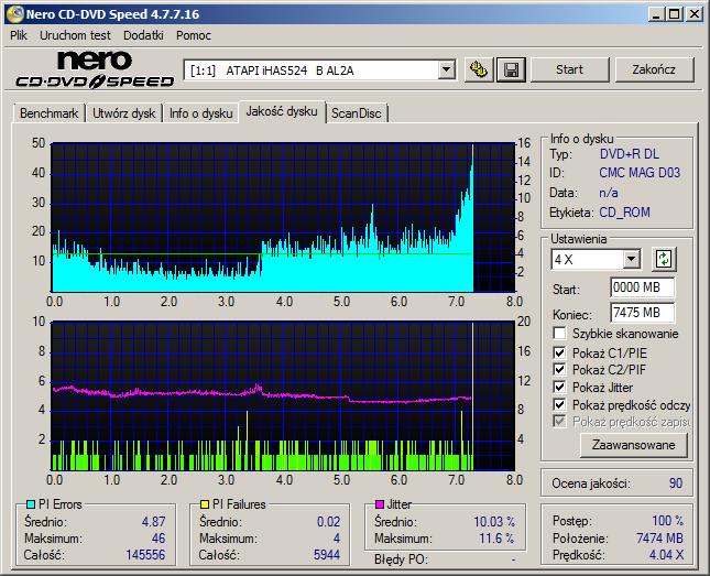 Verbatim DVD+R DL 8,5GB x8 White Inkjet Hub Printable MID: CMC MAG-D03-64-atapi___ihas524___b_al2a_18-july-2016_18_40.png