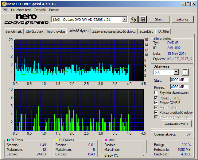 Kodak DVD+R 4,7 GB x8 MID: AML-002-00-optiarc_dvd_rw_ad-7280s_1.01_19-may-2017_21_34.png