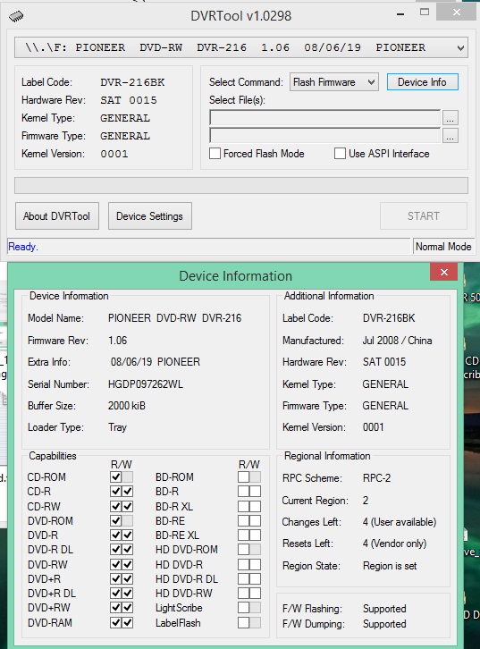 DVRTool v1.0 - firmware flashing utility for Pioneer DVR/BDR drives-2017-08-09_11-19-58.png