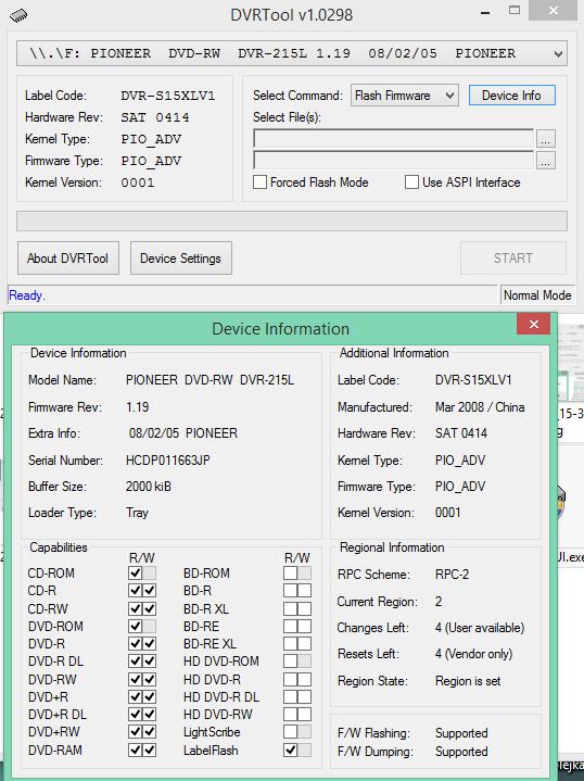 DVRTool v1.0 - firmware flashing utility for Pioneer DVR/BDR drives-2017-10-18_12-03-24.png