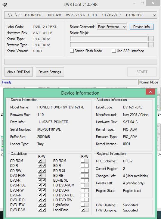 DVRTool v1.0 - firmware flashing utility for Pioneer DVR/BDR drives-2017-11-07_15-31-39.png