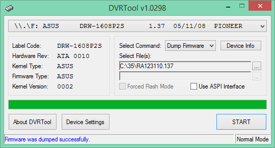 DVRTool v1.0 - firmware flashing utility for Pioneer DVR/BDR drives-2017-06-26_05-45-12.png
