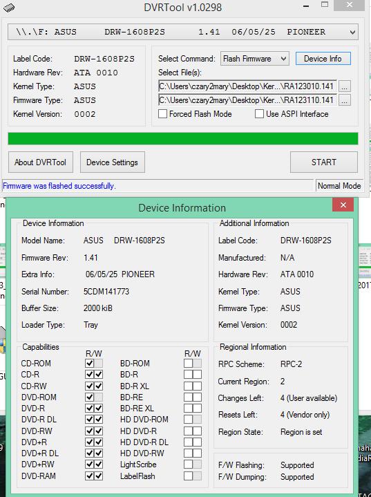 DVRTool v1.0 - firmware flashing utility for Pioneer DVR/BDR drives-2017-06-26_08-34-35.png