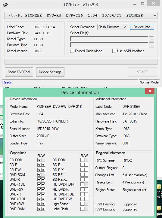 DVRTool v1.0 - firmware flashing utility for Pioneer DVR/BDR drives-2017-06-19_06-24-05.png