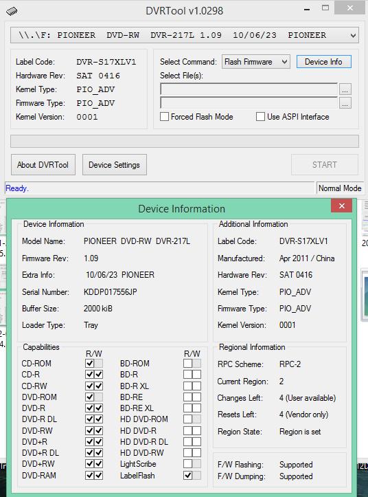 DVRTool v1.0 - firmware flashing utility for Pioneer DVR/BDR drives-2017-12-11_10-51-32.png