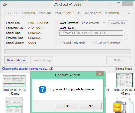 DVRTool v1.0 - firmware flashing utility for Pioneer DVR/BDR drives-2018-02-13_18-06-41.png