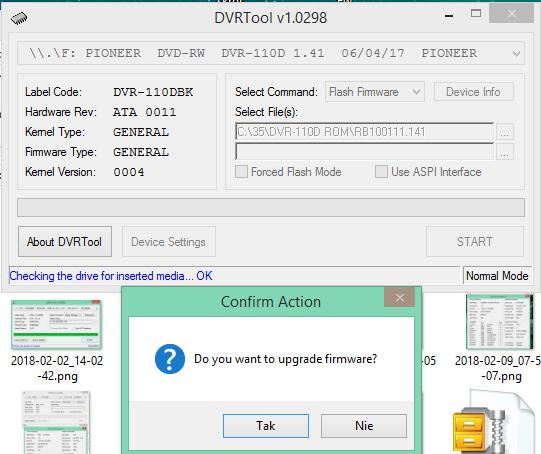 DVRTool v1.0 - firmware flashing utility for Pioneer DVR/BDR drives-2018-02-13_18-06-41.png