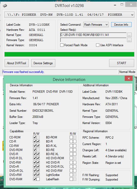 DVRTool v1.0 - firmware flashing utility for Pioneer DVR/BDR drives-2018-02-13_18-07-55.png