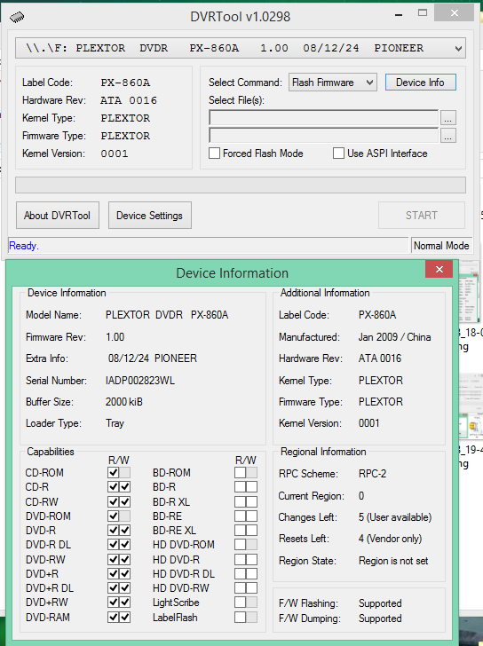 DVRTool v1.0 - firmware flashing utility for Pioneer DVR/BDR drives-2018-02-20_10-29-33.png