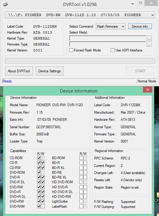 DVRTool v1.0 - firmware flashing utility for Pioneer DVR/BDR drives-2018-02-12_10-29-24.png