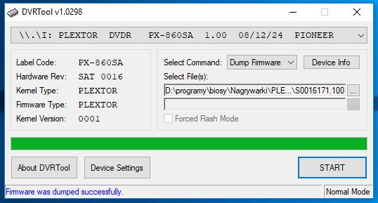 DVRTool v1.0 - firmware flashing utility for Pioneer DVR/BDR drives-przechwytywanie11.png