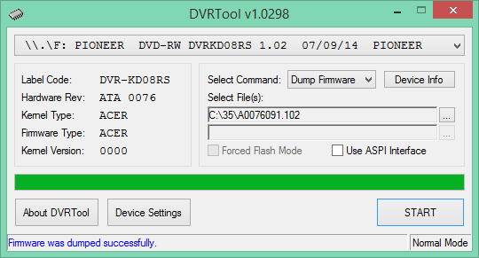 DVRTool v1.0 - firmware flashing utility for Pioneer DVR/BDR drives-2018-04-05_07-09-11.png