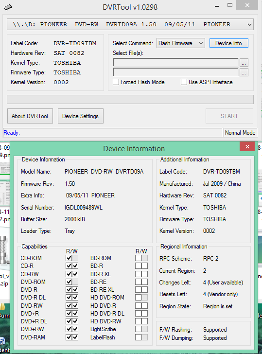 DVRTool v1.0 - firmware flashing utility for Pioneer DVR/BDR drives-2018-04-05_06-40-34.png