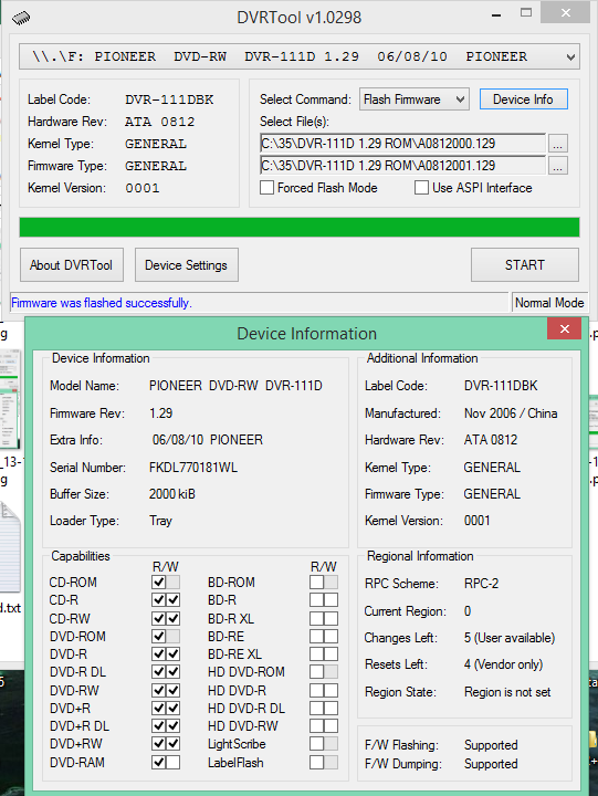 DVRTool v1.0 - firmware flashing utility for Pioneer DVR/BDR drives-2018-04-19_13-28-40.png