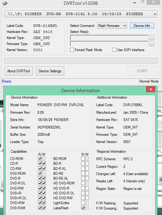 DVRTool v1.0 - firmware flashing utility for Pioneer DVR/BDR drives-2018-03-13_12-09-47.png