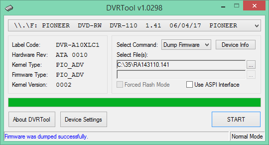 DVRTool v1.0 - firmware flashing utility for Pioneer DVR/BDR drives-2018-03-09_07-52-01.png
