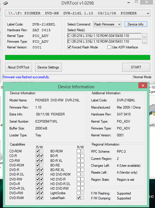 DVRTool v1.0 - firmware flashing utility for Pioneer DVR/BDR drives-2018-03-11_08-53-42.png