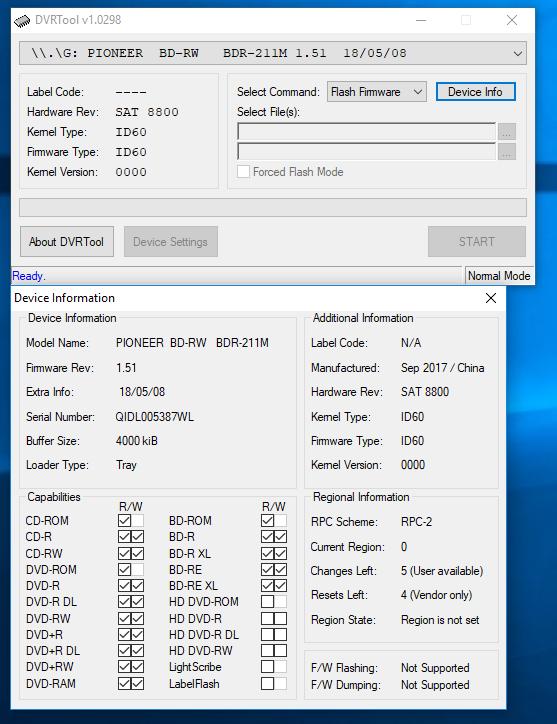 DVRTool v1.0 - firmware flashing utility for Pioneer DVR/BDR drives-przechwytywanie06.png