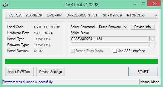DVRTool v1.0 - firmware flashing utility for Pioneer DVR/BDR drives-2020-03-11_13-04-08.png