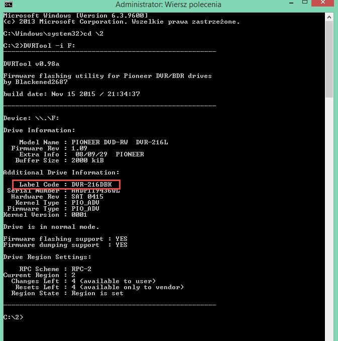 DVRTool v1.0 - firmware flashing utility for Pioneer DVR/BDR drives-4.png