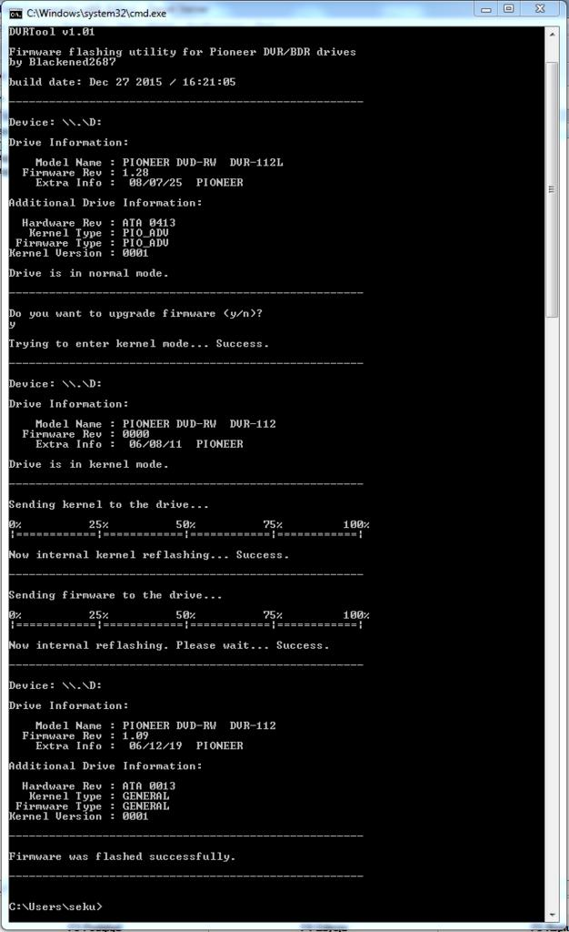 DVRTool v1.0 - firmware flashing utility for Pioneer DVR/BDR drives-przechwytywanie01.jpg