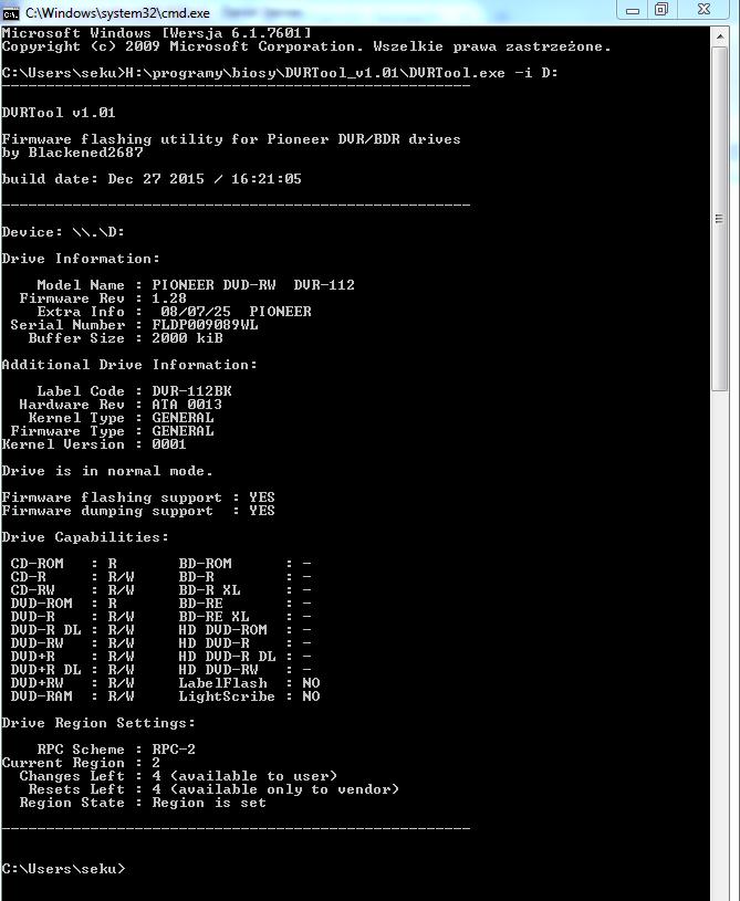 DVRTool v1.0 - firmware flashing utility for Pioneer DVR/BDR drives-przechwytywanie03.png