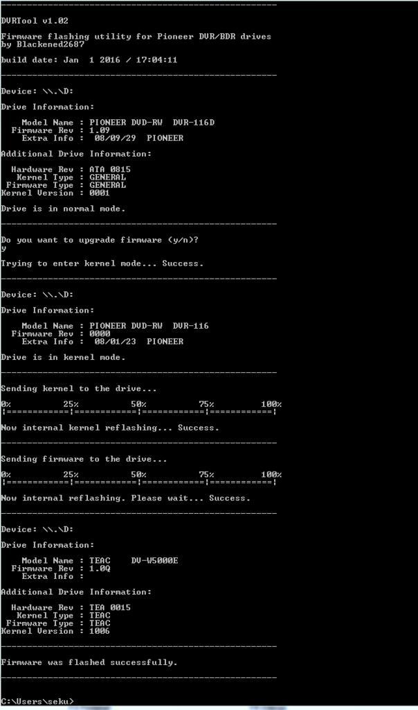 DVRTool v1.0 - firmware flashing utility for Pioneer DVR/BDR drives-przechwytywanie.jpg