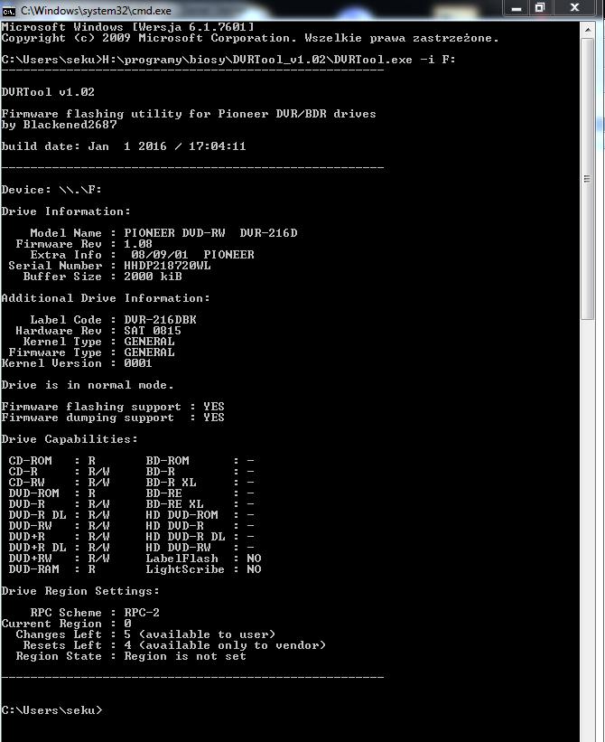 DVRTool v1.0 - firmware flashing utility for Pioneer DVR/BDR drives-przechwytywanie02.png