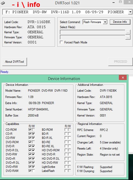 DVRTool v1.0 - firmware flashing utility for Pioneer DVR/BDR drives-2016-02-06_16-57-10.png