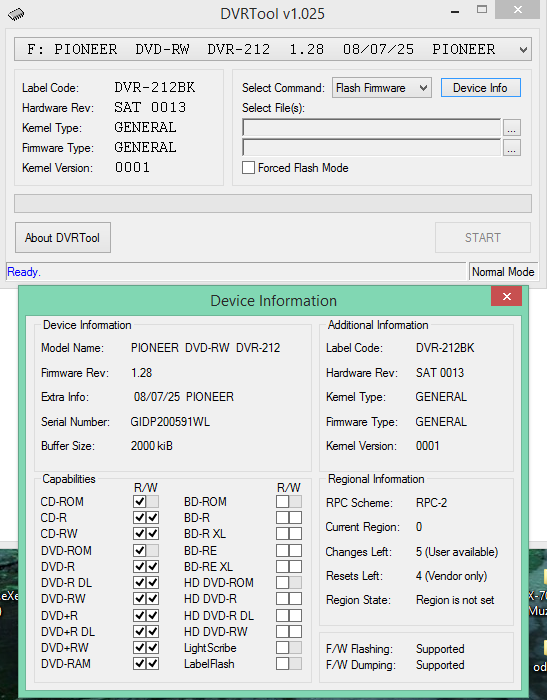 DVRTool v1.0 - firmware flashing utility for Pioneer DVR/BDR drives-2016-02-08_06-39-06.png