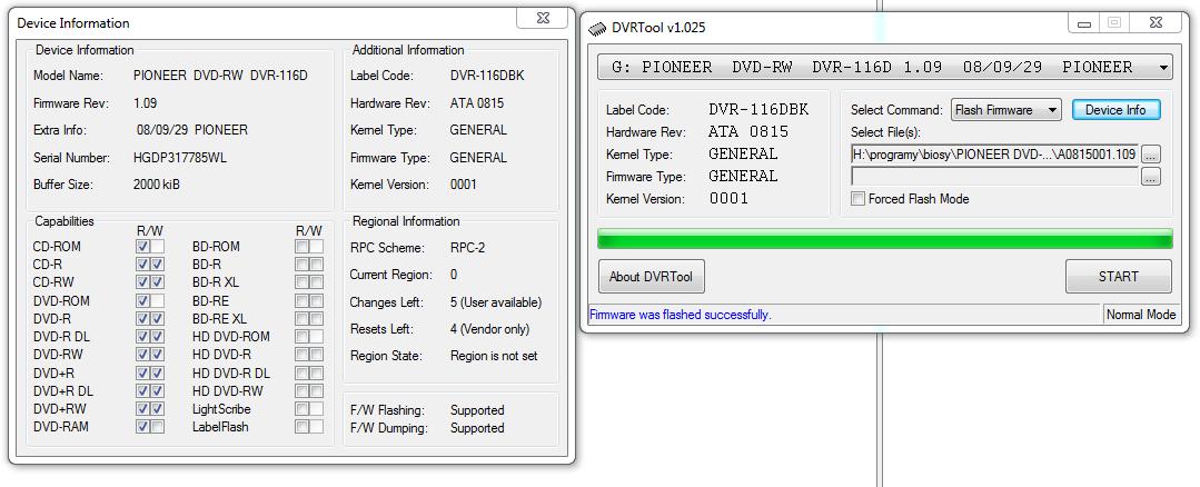 DVRTool v1.0 - firmware flashing utility for Pioneer DVR/BDR drives-przechwytywanie05.png