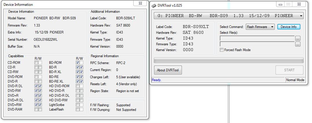 DVRTool v1.0 - firmware flashing utility for Pioneer DVR/BDR drives-przechwytywanie07.png