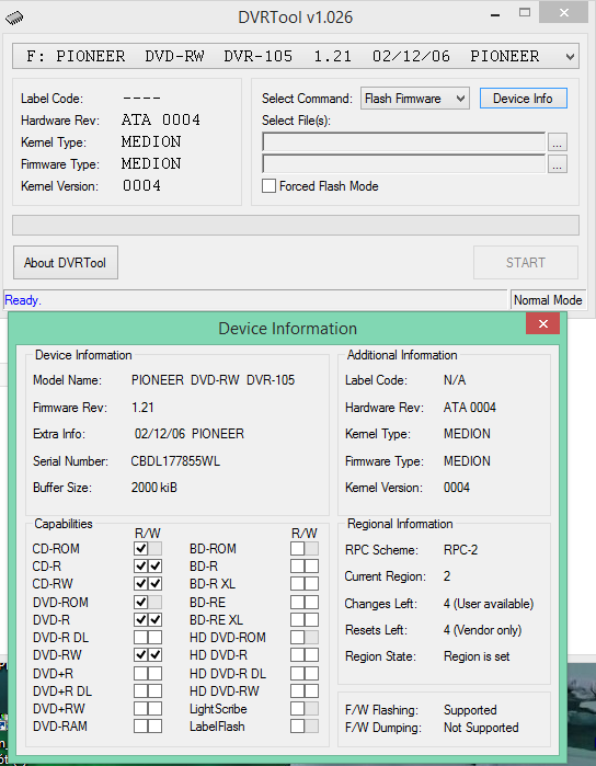 DVRTool v1.0 - firmware flashing utility for Pioneer DVR/BDR drives-2016-03-05_11-26-24.png