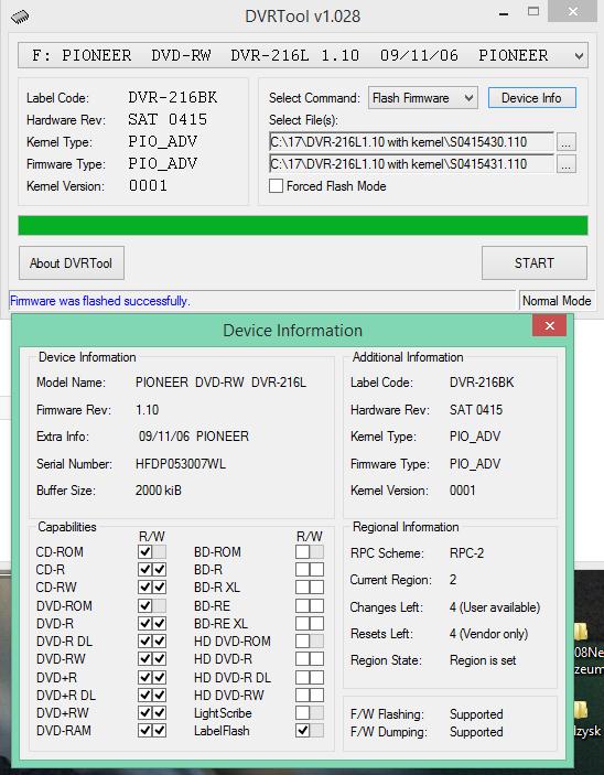DVRTool v1.0 - firmware flashing utility for Pioneer DVR/BDR drives-2016-03-20_07-50-03.png