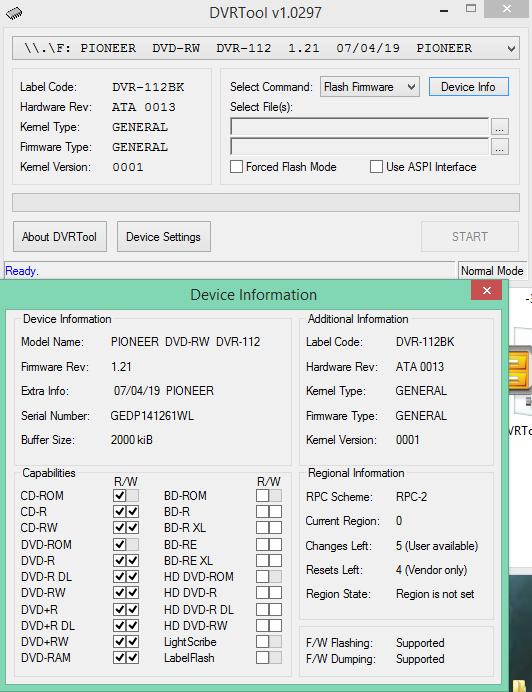 DVRTool v1.0 - firmware flashing utility for Pioneer DVR/BDR drives-2016-05-25_14-11-28.png