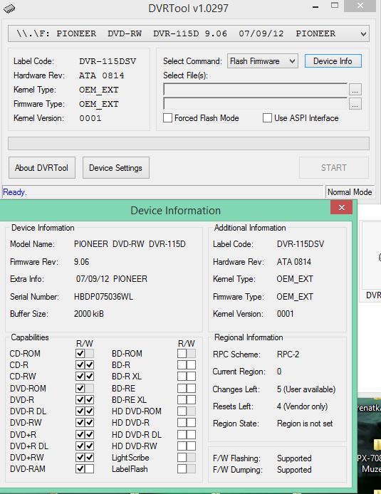 DVRTool v1.0 - firmware flashing utility for Pioneer DVR/BDR drives-2016-05-30_10-20-13.png