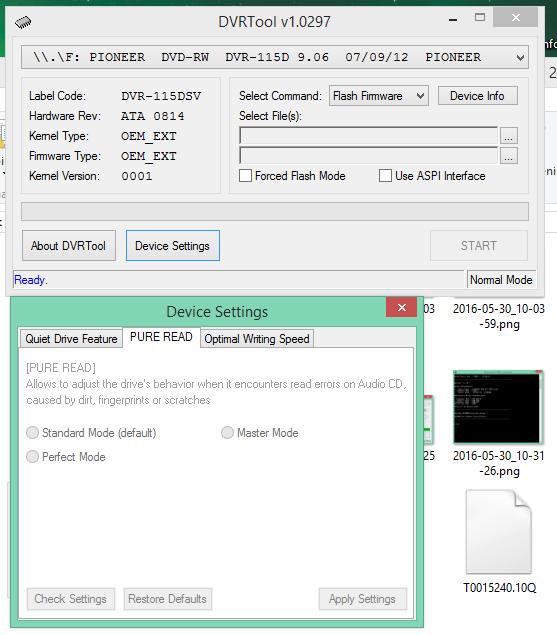 DVRTool v1.0 - firmware flashing utility for Pioneer DVR/BDR drives-2016-05-30_11-11-51.png
