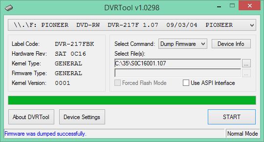 DVRTool v1.0 - firmware flashing utility for Pioneer DVR/BDR drives-2017-04-01_11-57-51.png