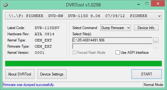 DVRTool v1.0 - firmware flashing utility for Pioneer DVR/BDR drives-2017-04-05_16-13-32.png