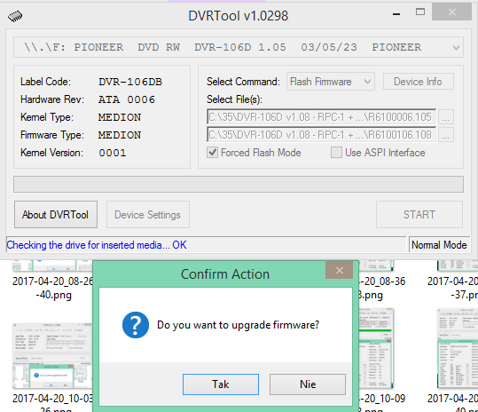 DVRTool v1.0 - firmware flashing utility for Pioneer DVR/BDR drives-2017-04-20_10-19-06.png