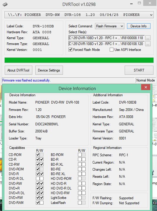 DVRTool v1.0 - firmware flashing utility for Pioneer DVR/BDR drives-2017-04-20_08-27-54.png