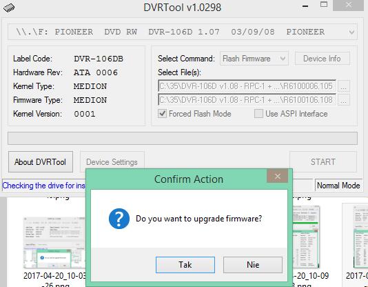 DVRTool v1.0 - firmware flashing utility for Pioneer DVR/BDR drives-2017-04-20_10-14-10.png