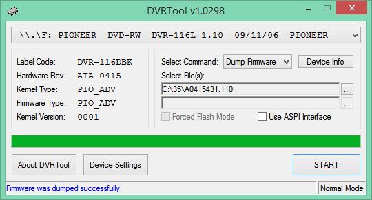 DVRTool v1.0 - firmware flashing utility for Pioneer DVR/BDR drives-2017-04-21_08-22-54.png