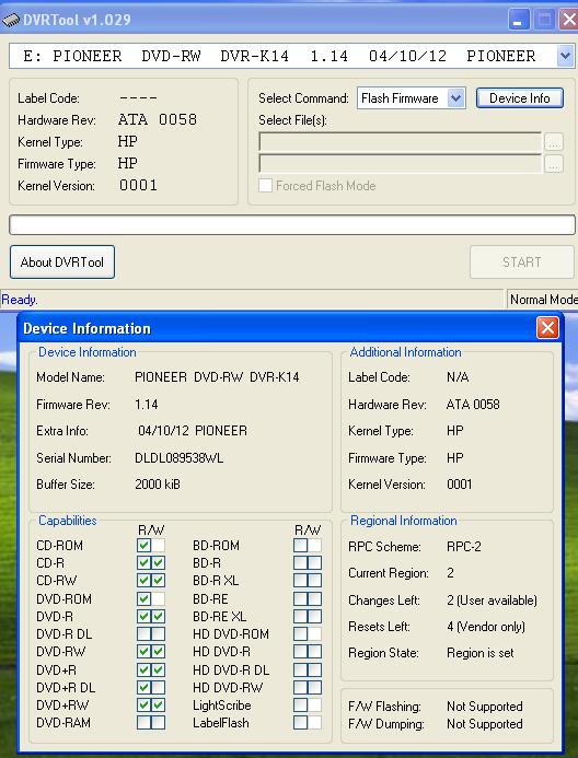 DVRTool v1.0 - firmware flashing utility for Pioneer DVR/BDR drives-2017-04-27_125257.png