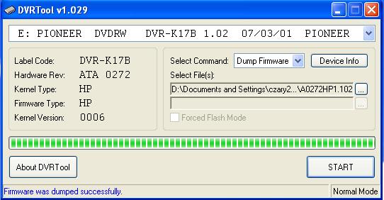 DVRTool v1.0 - firmware flashing utility for Pioneer DVR/BDR drives-2017-04-27_110048.png