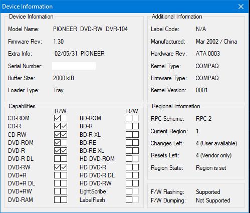 Nazwa:  Device Info.png,  obejrzany:  131 razy,  rozmiar:  19.5 KB.