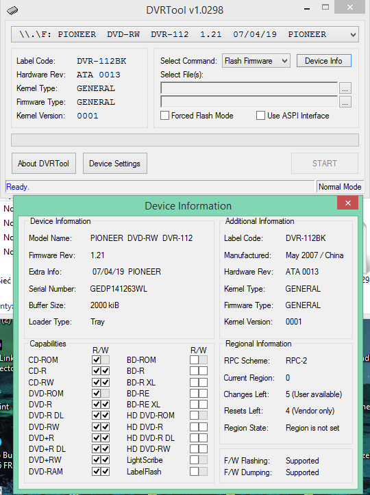 DVRTool v1.0 - firmware flashing utility for Pioneer DVR/BDR drives-2017-08-11_12-28-33.png