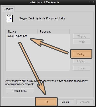 Automatyczna kopia rejestru w WindowsXP podczas zamykania systemu.-dodaj.png